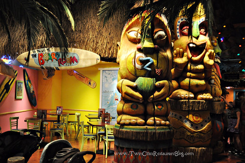 Tiki Gods at Kokomo's Island Cafe ~ Mall of America, MN
