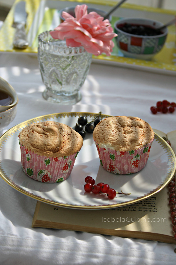 Angel Food Muffins