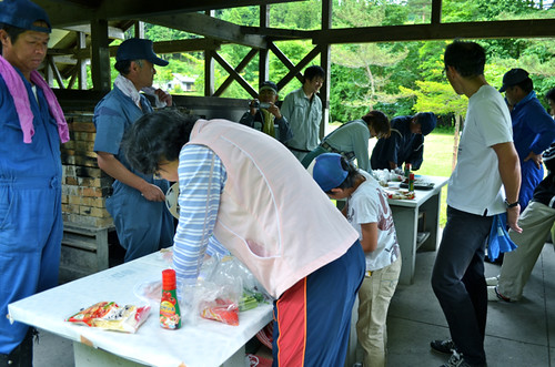 草刈りボランティア2012