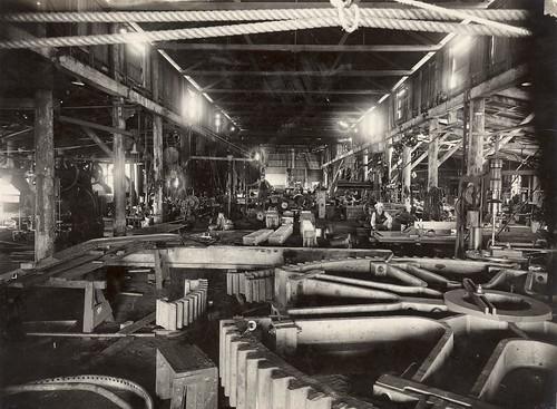 Australian factory in the early 1900s