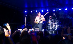 Rick Springfield in concert at the Tin Roof in Columbia, SC, on July 6.