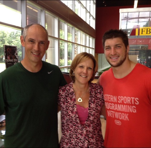 Tim Tebow rocking ESPN Apparel