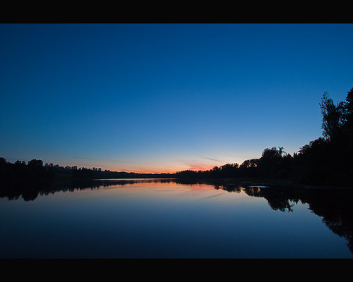 Twilight at Deer Lake
