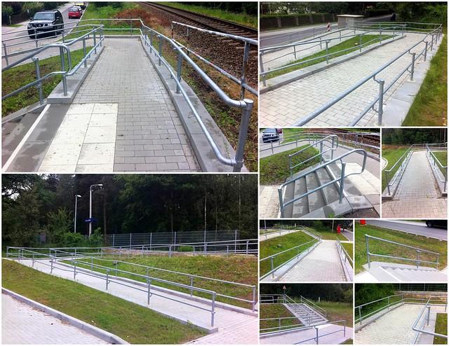 Handicap Railing - German Train Station