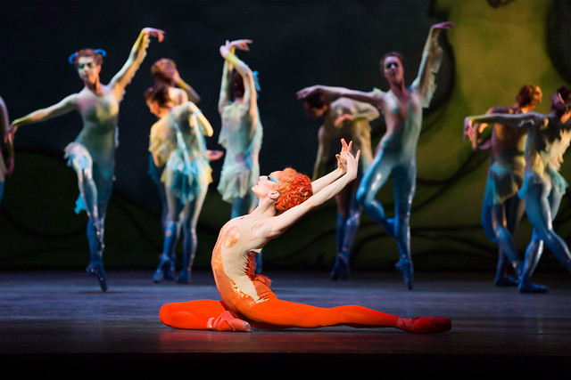 Marianela Nuñez and The Royal Ballet in Diana and Actaeon. Metamorphosis: Titian 2012. © ROH/Johan Persson, 2012.