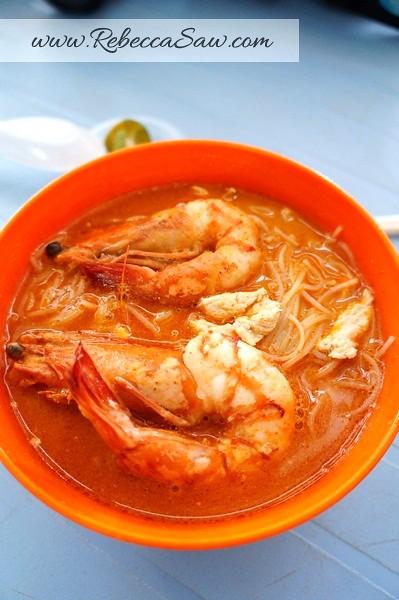 sarawak Laksa @Golden Arch, 3rd Mile, Kuching