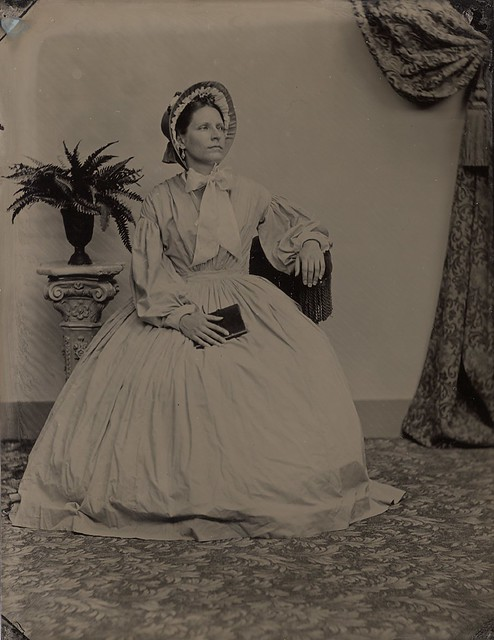 Tintype at Victorian Photography Studio, Gettysburg
