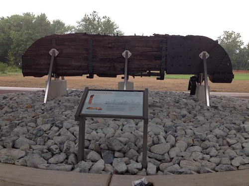 WWI Rudder at Jones Point Park