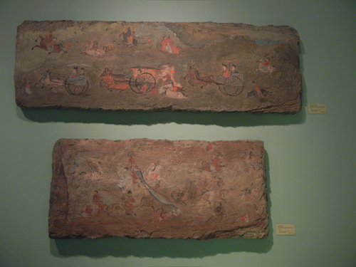 Tomb Wall Paintings - Liaoning (Province) Museum in Shenyang, China _ 9676
