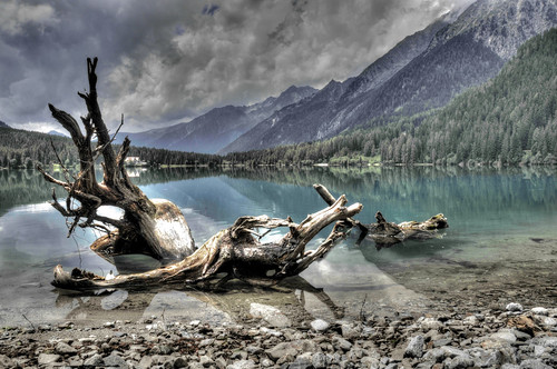 Lago Di Anterselva Color version. by Davide Comotti