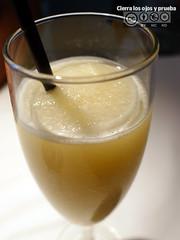 Sorbete de limón con cava