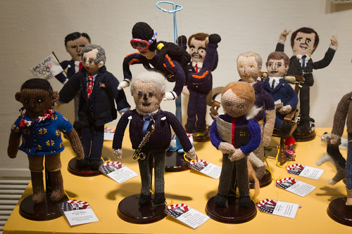 Knitted US Presidents