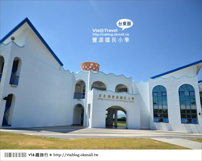 【台東地中海國小】台東豐源國小~一起探訪全台最美的小學!!6
