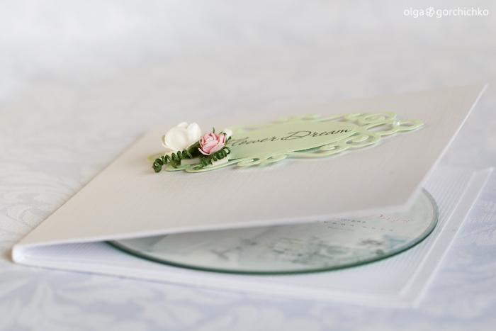 """Конверты для дисков с фотографиями проекта """"Flower Dream"""""""