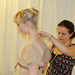 Royal Ballet Principal Sarah Lamb being fitted by dressfitter Becky Hayward. © ROH 2012