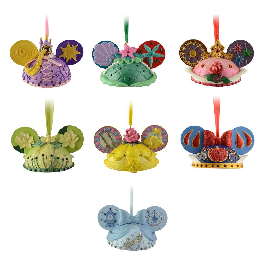 Princess Ear Hat Ornaments