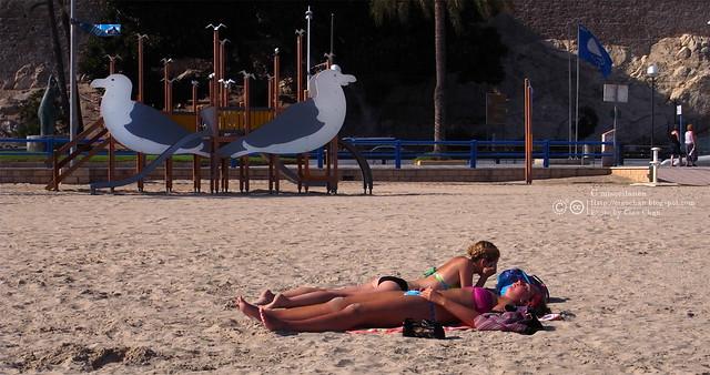 Hola Alicante~ 阿利坎特。地中海的熱度 Castillo de Santa Barbara 聖巴巴拉城   R1043757