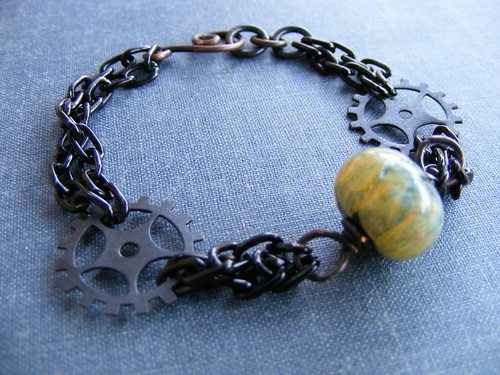 Steam Punk inspired bracelet