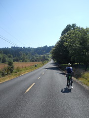 Heading east on Tillstrom Road