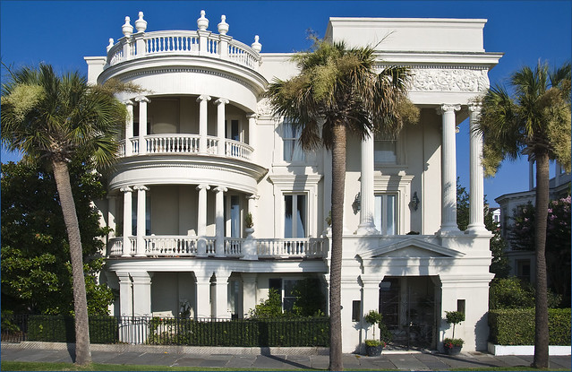 East Bay Street Mansion in Charleston, SC by CC user 22711505@N05 on Flickr