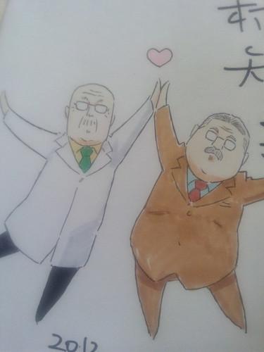 120728(1) - TVA《もやしもん リターンズ》原作漫畫家「石川雅之」親筆簽名插圖、慰勞出演聲優們! (9/14)