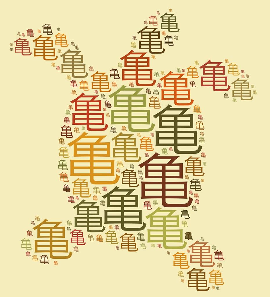 kame kanji by tuzen