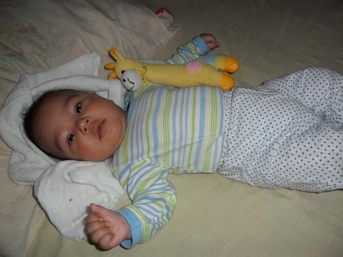Henrique com 3 meses by Coisando as Coisas by Clau