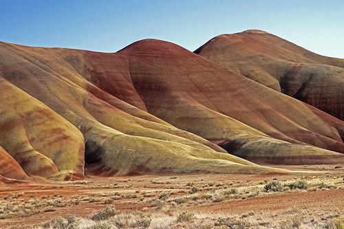 nature oregon landscape hills paintedhills scenicsnotjustlandscapes canon7d littlebiddle