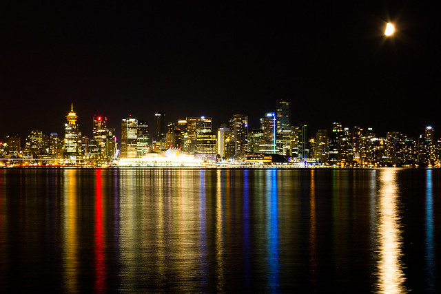 Vancouver Night Colours