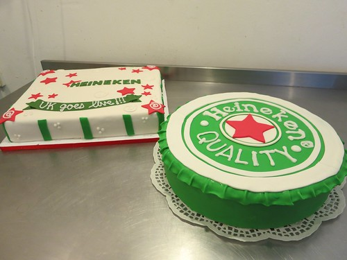 Heineken Cakes by CAKE Amsterdam - Cakes by ZOBOT