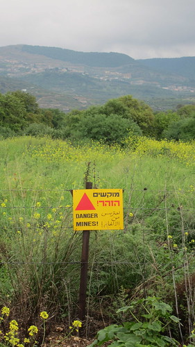 Minefields, Golan heights by TheLostSociety