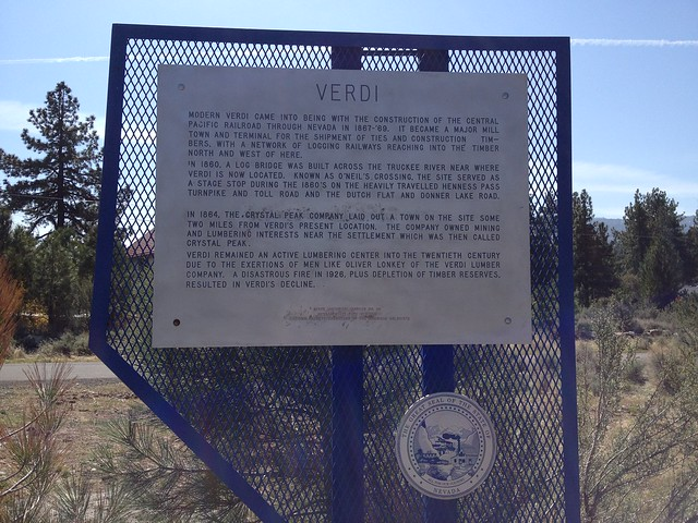 Nevada Historical Marker #191
