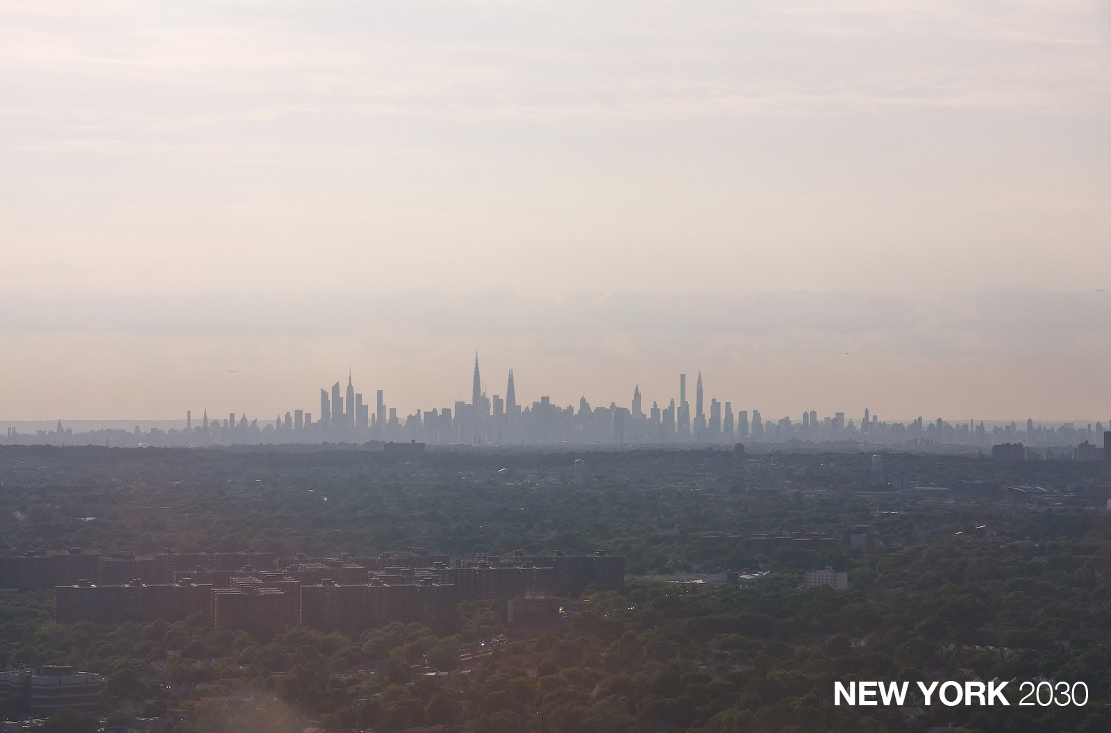 New York City Skyline in 2030