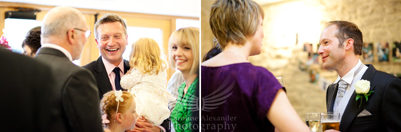 36 Kingscote Barn Wedding Photographer