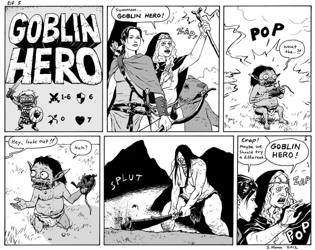 Elf - Comic Fury Webcomic Hosting