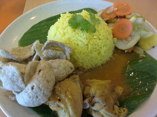 Rice with Chicken Curry