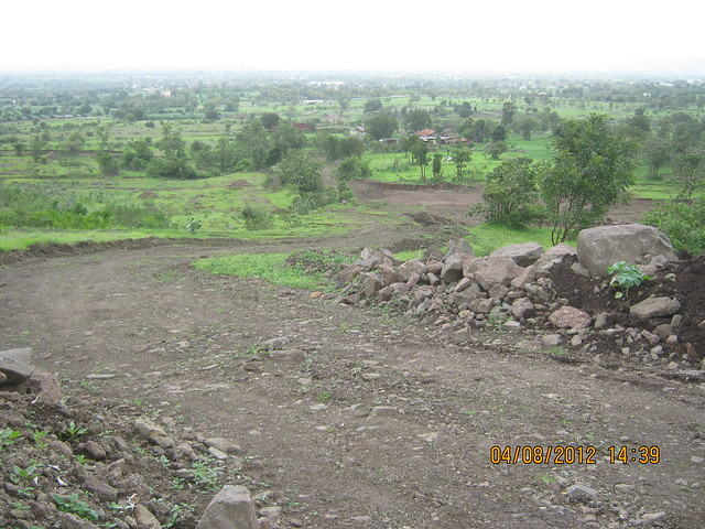 Cut, Demolished & Destroyed Hill of XRBIA Hinjewadi Pune - Nere Dattawadi, on Marunji Road, approx 7 kms from KPIT Cummins at Hinjewadi IT Park - 75
