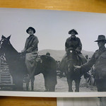 Sister Davies & friend at remount depot?