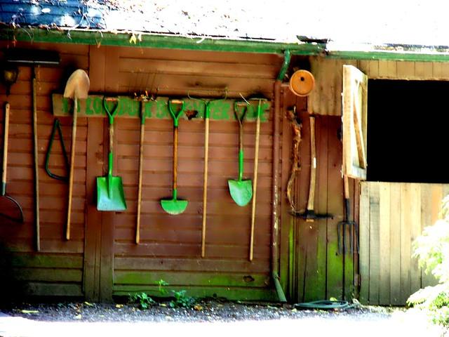 Garden tools flickr photo sharing for Yard and garden equipment