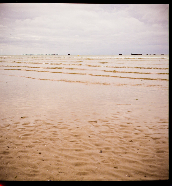 Plage d'Asnelles - marée basse