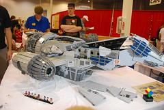 Firefly Serenity Lego Model at BrickFair, 2012 Chantilly, VA