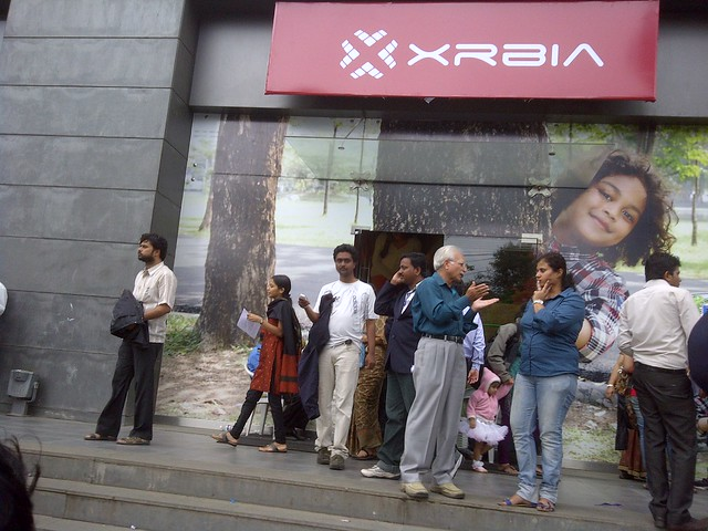 Pune real estate investors at XRBIA Booking Venue, temporarily rented showroom, ICC Trade Towers, Senapati Bapat Road, Pune 411016
