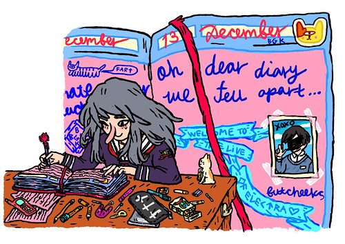 oh dear diary2 [bubblegum bitch]
