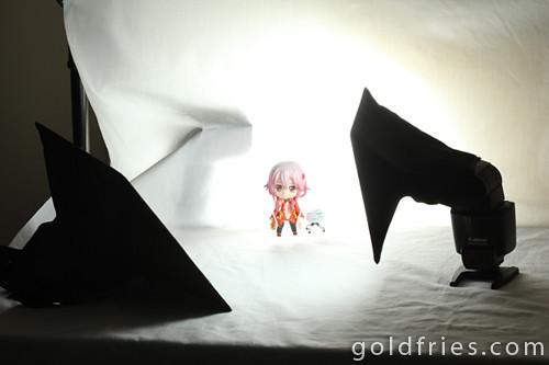 楪 いのり (Inori Yuzuhira) - Guilty Crown, Photoshoot Setup