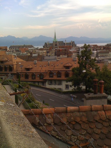 Lausanne from old town
