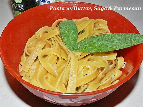 Pasta butter and sage (5)