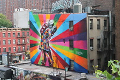 Graffiti art in New York City