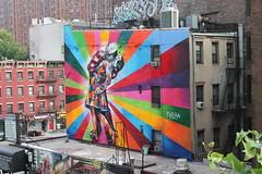 Arte del Graffiti en la ciudad de Nueva York