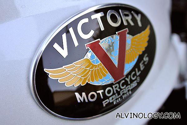 Victory bike logo