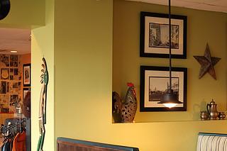 Interior, Sun Garden Cafe, Siesta Key, Sarasota, FL